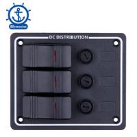 3P Aluminum Vertical Fuse switch panel